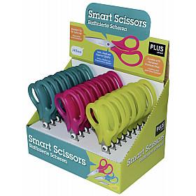 PLUS Japan Smart Scissors School Schaar - Display van 24