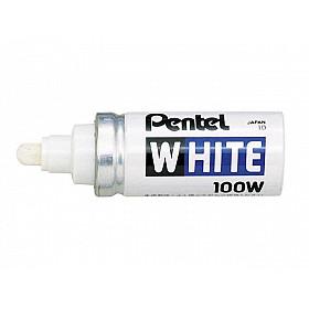 Pentel 100W Marker - Breed - Wit