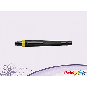 Pentel FR-105 Color Brush Vulling - Lemon Geel