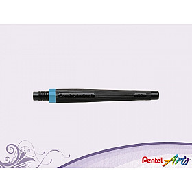 Pentel FR-110 Color Brush Vulling - Sky Blauw