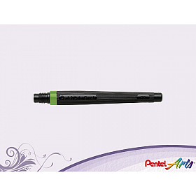 Pentel FR-111 Color Brush Vulling - Licht Groen