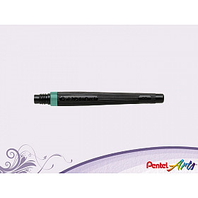 Pentel FR-114 Color Brush Vulling - Turquoise