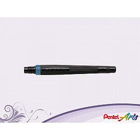 Pentel FR-117 Color Brush Vulling - Staalblauw