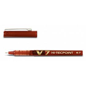 Pilot Hi-Tecpoint V7 - Fijn - Rood