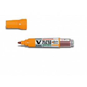 Pilot V Super Color Marker - Rond - Oranje