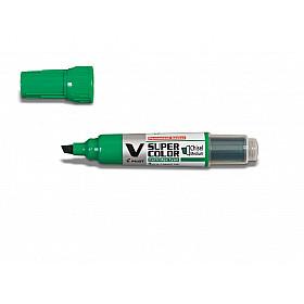 Pilot V Super Color Marker - Beitel - Groen