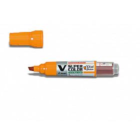 Pilot V Super Color Marker - Beitel - Oranje