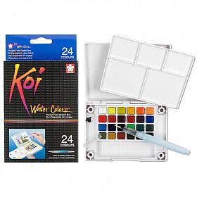 Sakura Koi Water Colors Brush Set - 24 kleuren
