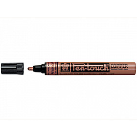 Sakura Pen-Touch Permanent Marker - Medium - 2.0 mm - Koper