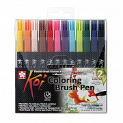 Sakura Koi Coloring Brush Pen - Set van 12