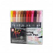 Sakura Koi Coloring Brush Pen - Set van 24
