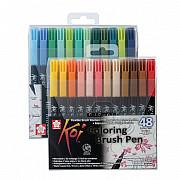 Sakura Koi Coloring Brush Pen - Set van 48