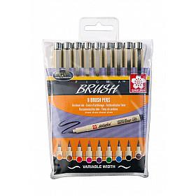 Sakura Pigma Brush Pen - Set van 9