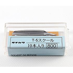 Tachikawa No. 5 - School Model Nib Penpunt - Set van 10