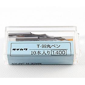 Tachikawa No. 99 - Maru Mapping Nib Penpunt - Hard Model - Set van 10