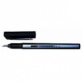 Tachikawa Linemarker A.T. Lijnmarker Pen - 0.1 mm - Zwart