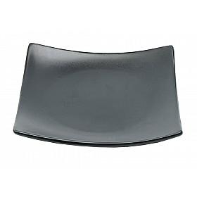 Black Matte - Bord Vierkant - 17x17 cm