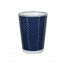Le Blue de Nîmes Lungo Cup - Web motief - 7x10 cm - 230 ml