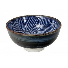 Seigaiha Blue - Kom - 12x6 cm