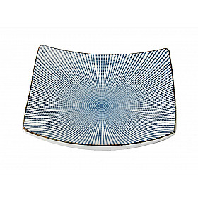 Sendan Tokusa Blue - Bord Vierkant - 19x19 cm
