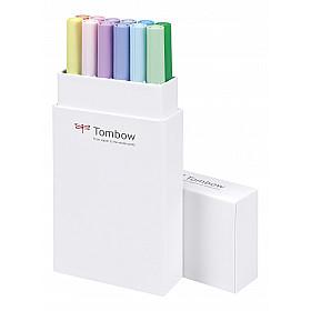 Tombow Dual Brush ABT (Set van 12) - Pastels
