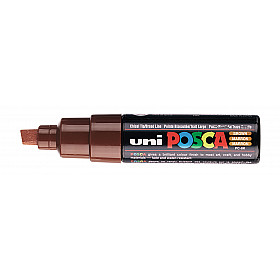 Uni Posca PC-8K Paint Marker - Breed - Bruin