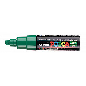 Uni Posca PC-8K Paint Marker - Breed - Groen