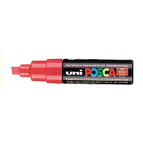 Uni Posca PC-8K Paint Marker - Breed - Rood
