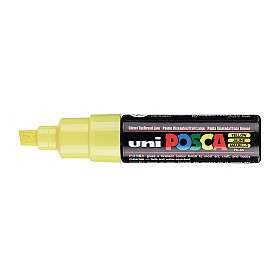 Uni Posca PC-8K Paint Marker - Breed - Geel
