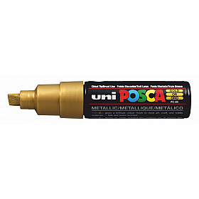 Uni Posca PC-8K Paint Marker - Breed - Goud
