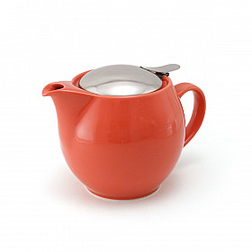 Zero Japan Theepot - Medium - 450 ml - Coral Red