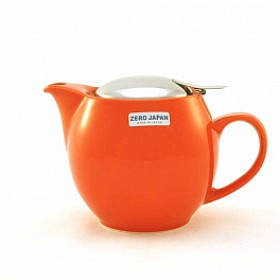 Zero Japan Theepot - Medium - 450 ml - Pumpkin Orange