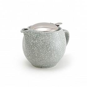 Zero Japan Theepot - Medium - 450 ml - Crackle Blue Grey