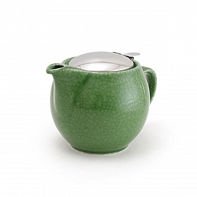 Zero Japan Theepot - Medium - 450 ml - Crackle Green
