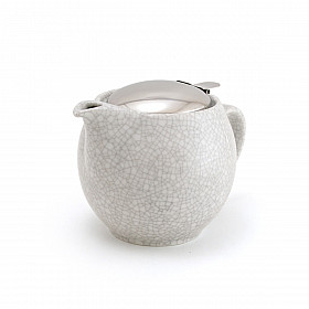 Zero Japan Theepot - Medium - 450 ml - Crackle White