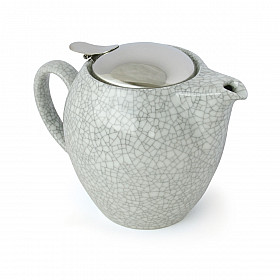Zero Japan Theepot - Groot - 580 ml - Crackle White